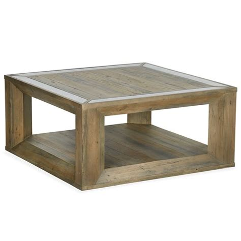 This has been made with pine tongue and groove planks and use vinegar stain, behr. Shop Brunswick Farmhouse Square Coffee Table with Casters - Free Shipping Today - Overstock ...