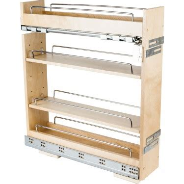 Cabinet Spice Rack Pull Out - base cabinet no wiggle pull out spice rack 5 14