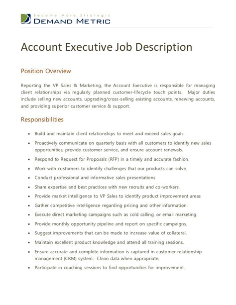 advertising account manager resume best account manager