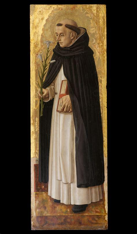 carlo crivelli saint dominic  met