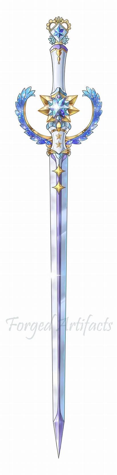 Sword Weapons Weapon Fantasy Deviantart Swords Mercury