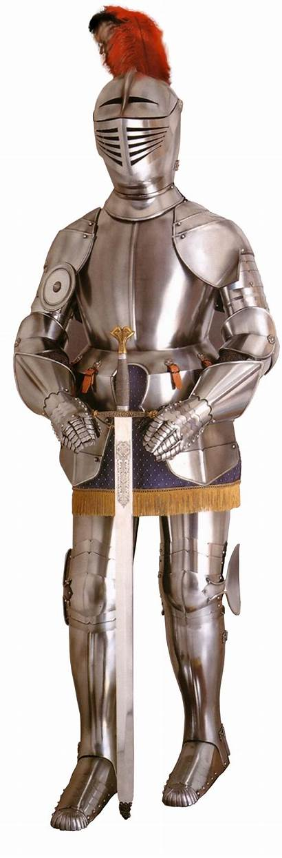 Knight Medival Armure Ages Middle Transparent Medieval