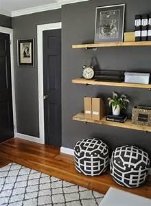 Graue Wandfarbe Wohnzimmer : wandfarbe grau 29 ideen f r die perfekte hintergrundfarbe in jedem raum ~ Sanjose-hotels-ca.com Haus und Dekorationen