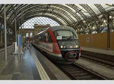642 540 der DB in Dresden Hbf