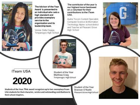 ITeam USA 2020 Awards Announced -- iTEAM USA   PRLog