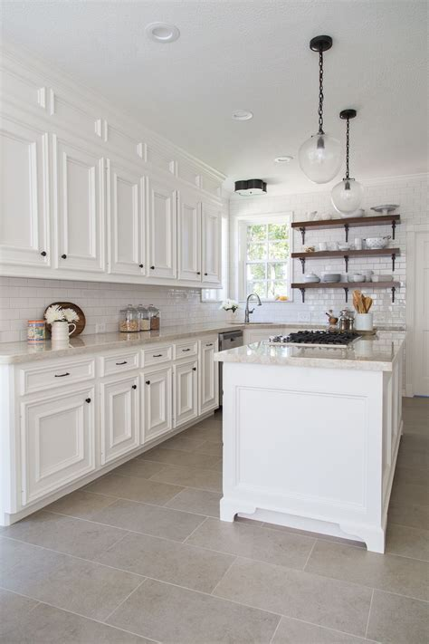 flooring before or after cabinets before after a dismal kitchen is made light and