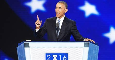 President Barack Obama Praises Hillary Clinton, Bashes