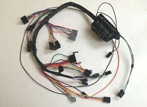 1963 63 impala dash wiring harness with fuse box automatic powerglide ebay