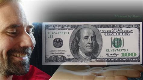 dollar bill series   museum  money youtube