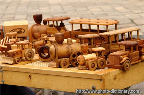 wooden toys photopicture definition  photo dictionary