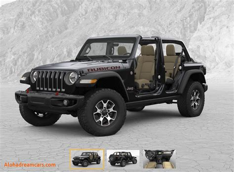2020 Jeep Rubicon by 2020 Jeep Wrangler Rubicon 4 Door Release Date 2019