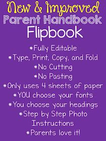 Just Reed New And Improved Parent Handbook Flipbook! Fully Revised