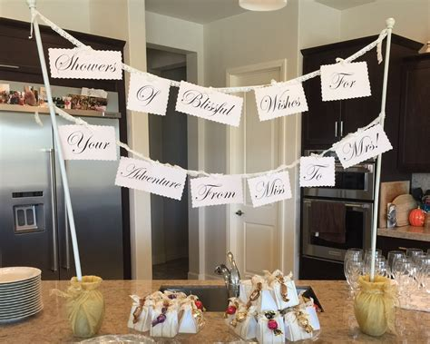 A Bridal Shower Check Off List