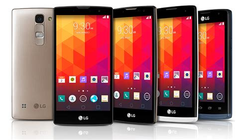 Lg Prepping 6 Brand New Smartphones For The Ces 2017 Trade