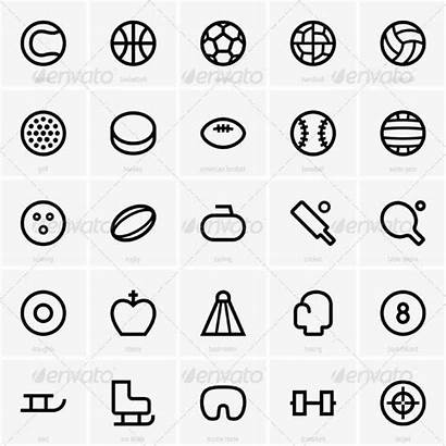 Sport Icons Graphicriver Icon Tattoos Volleyball Pictogram