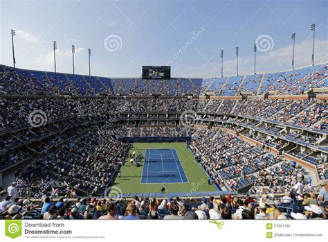 Arthur Ashe Stadium During Match At Us Open 2019 At Billie