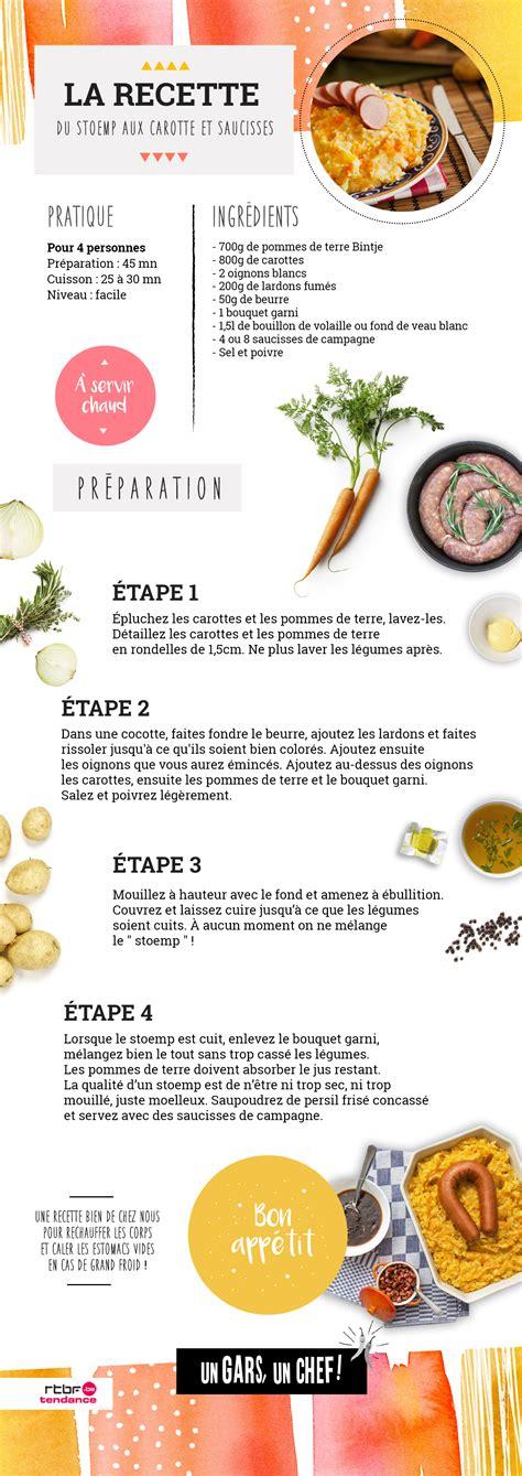 recette de cuisine facile pdf recette le stoemp aux carottes saucisses et oeufs d 39 un