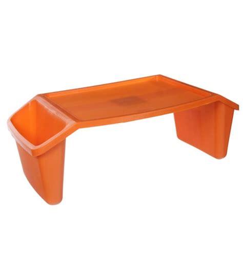 kids portable lap desk orange