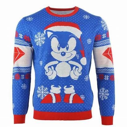 Sonic Christmas Jumper Hedgehog Ugly Sweater Santa