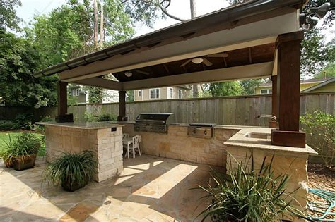 Kitchen Design Small, Rustic Outdoor Kitchens Covered