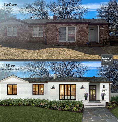 Painted brick homes nice rocky mountain diner home design. 20 Painted Brick Houses to Inspire You in 2020 | Blog | brick&batten