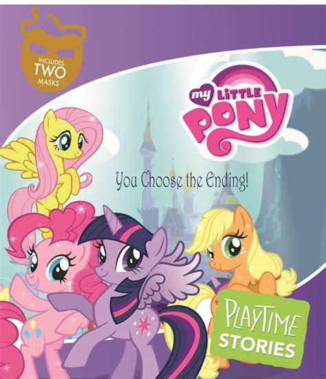 mlp playtime books stories pony activity activities ponies age