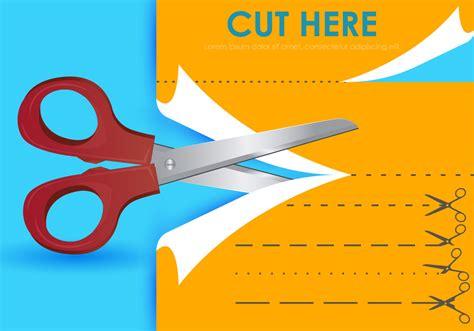 cut   scissors templates   vectors