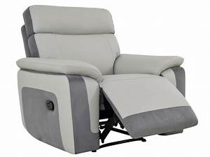 fauteuil relax gris achat en ligne With achat fauteuil relax