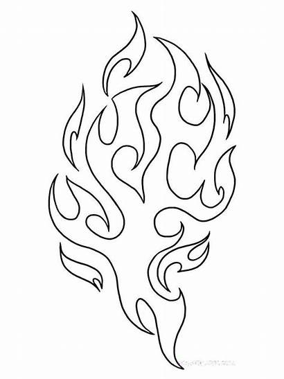 Fire Coloring Pages Nature Printable