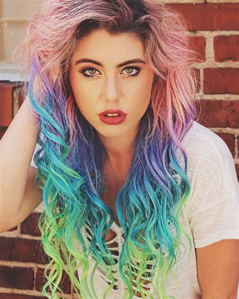 Coloured Hair by Top 16 Hair Colour Trends For This Summer 2017 Gazzed