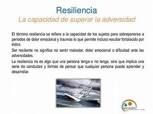 Contencion emocional y resiliencia