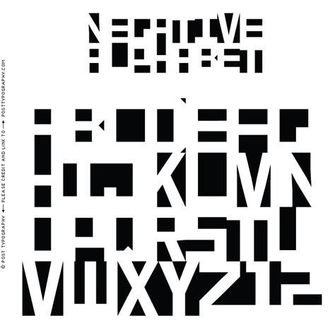 negative space letters negative font2 png 765 215 750 negative positive 82866