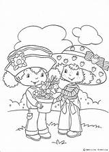 Shortcake Strawberry Orange Blossom Coloring Pages Charlotte Print Coloriage Hellokids Erdbeer Fleur Emily sketch template