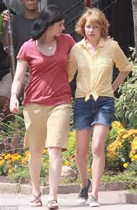 joji swimsuit michelle williams and sarah silverman on the set of take