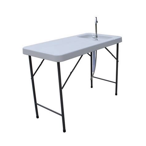 folding fish cleaning table palm springs folding portable fish fillet cleaning table w