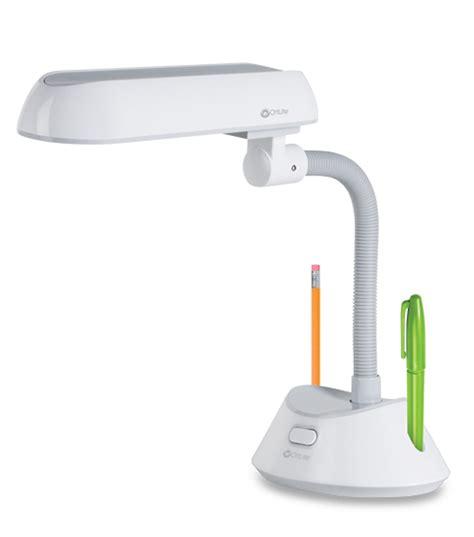 Ottlite Desk L Bulb by Ottlite Slimline Task L White Gray Jo