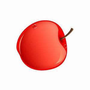 Apple_f007, Apple, Fruit, Food, Icon, 256x256 ...