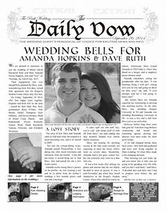 enewspapers and print newspapers for everyone With wedding announcement templates newspaper