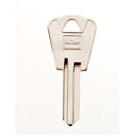 National Cabinet Lock by Hy Ko Blank E Z Set National Cabinet Lock Key 11010nh1