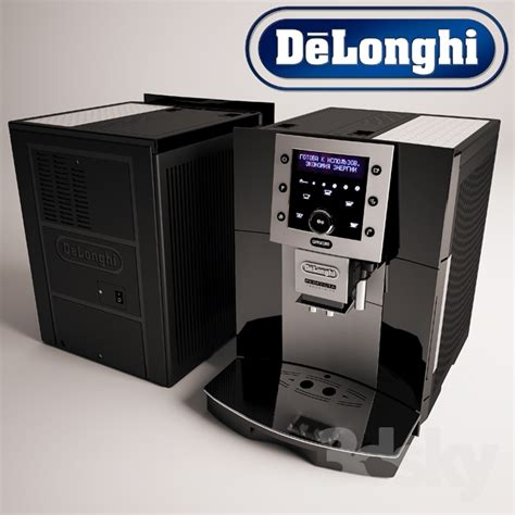 delonghi perfecta cappuccino mahlwerk 3d models kitchen appliance delonghi perfecta cappuccino coffee machine
