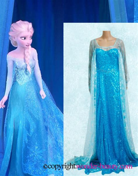 Mukena Frozen Elsa Size Xl elsa dress costume in frozen wonder