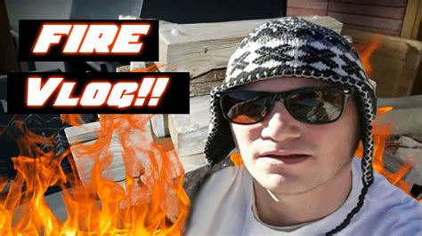 Are we under a tornado warning? FIRE VLOG | WINTER STORM - YouTube