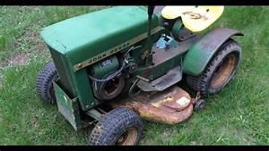 1967 John Deere 112 Round Fender Garden Tractor Found On