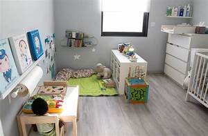 awesome idee deco chambre fille 2 ans gallery seiunkel With amenagement chambre 2 lits