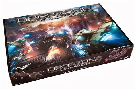 REVIEW: Dropzone Commander 2-Player Starter box (video ...