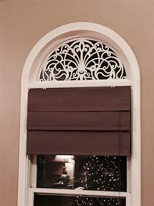 DIY faux wrought iron arch for windows using rubber door ...