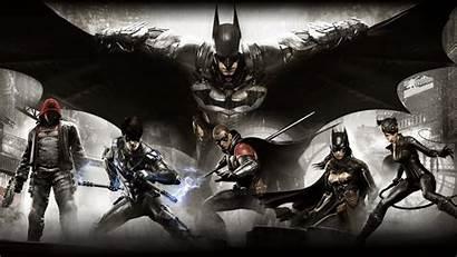 Bat Batman Arkham Wallpapers Dc Universe Titan