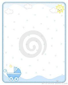 baby boy page borders frames  bing images greeting