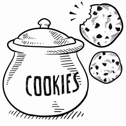 Cookie Makeover Cookies Drawing Clip Jar Clipart