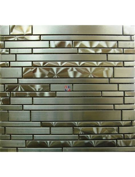 stainless mosaic buy odyssey stainless interlocking mosaic wallandtile com